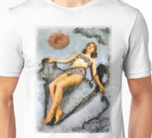 Vintage Pinup by Frank Falcon Unisex T-Shirt