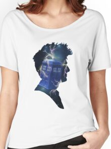 Doctor Who Traveling Tardis Women's Relaxed Fit T-Shirt