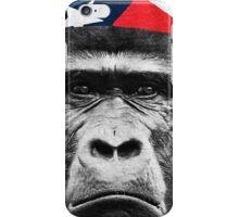 Natural Born Hero : Harambe iPhone Case/Skin
