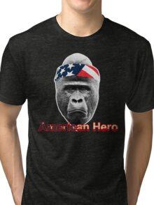 Natural Born Hero : Harambe Tri-blend T-Shirt