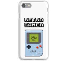 RETRO GAMER HANDHELD Game Console iPhone Case/Skin