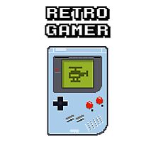 RETRO GAMER HANDHELD Game Console Photographic Print