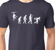Funny Evolution Of Man And Ten Pin Bowling Unisex T-Shirt