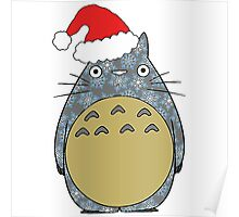 Totoro Christmas Poster