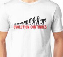 Ten Pin Bowling Evolution Continues Unisex T-Shirt