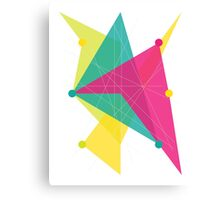 Abstract Polygon Canvas Print