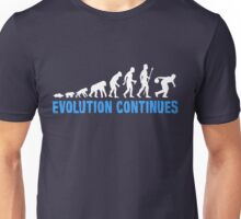 Evolution Of Ten Pin Bowling Funny T Shirt Unisex T-Shirt