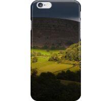 Eglwyseg valley Horseshoe Pass iPhone Case/Skin
