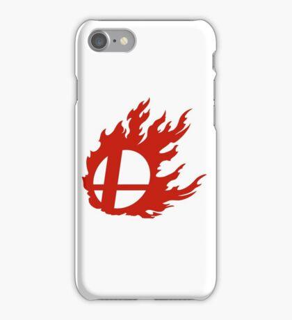 Red Smash Ball iPhone Case/Skin