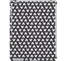 Mickey Polka Dots in Mouse Black iPad Case/Skin