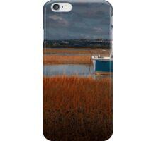 Calm Loughor estuary iPhone Case/Skin