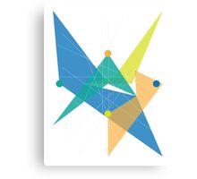 Abstract Rhombus Canvas Print