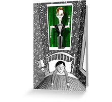 The Boy who Dreamed of David Bowie  Greeting Card