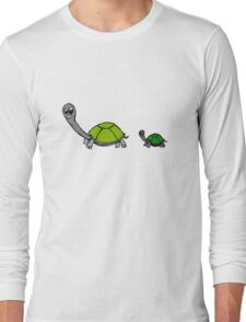 tortoise without tags by ashley.pb Long Sleeve T-Shirt