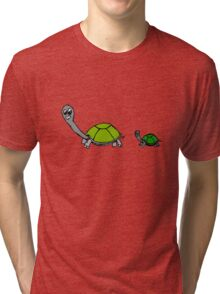 tortoise without tags by ashley.pb Tri-blend T-Shirt