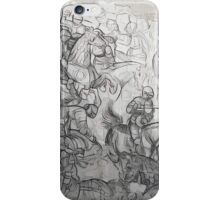 Memories of ancient knights iPhone Case/Skin