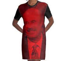 Dr. Phil McGraw - Celebrity Graphic T-Shirt Dress