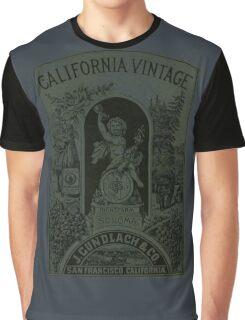 Vintage Wine ad Graphic T-Shirt