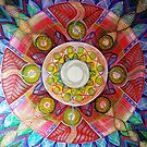 Rebirth Mandala by Angelina Elander