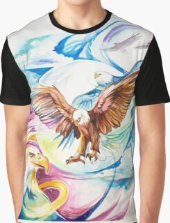Amazing Eagles Surrealist and Concept Art  Graphic T-Shirt