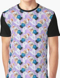 Spock Bean Pattern Graphic T-Shirt
