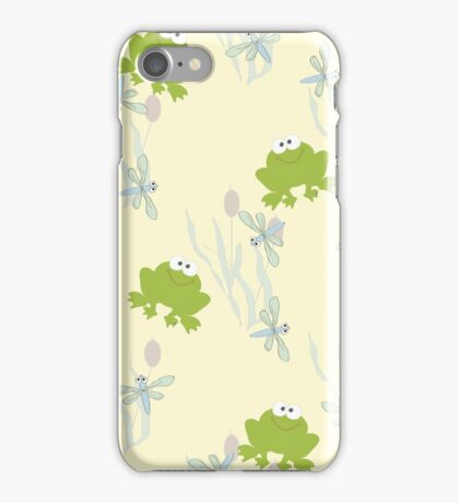Childrens background with leaguetime iPhone Case/Skin