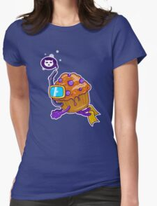 A Muffin Diving Womens Fitted T-Shirt