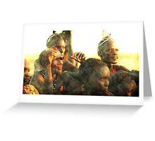 Tribal Gathering Greeting Card