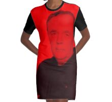 James Patterson - Celebrity Graphic T-Shirt Dress
