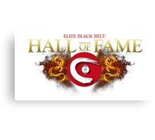 Elite Black Belt Hall of Fame - Seieido Canvas Print