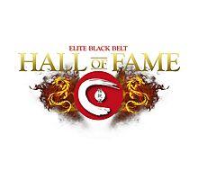 Elite Black Belt Hall of Fame - Seieido Photographic Print