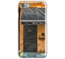 A little bar in Palma de Mallorca. iPhone Case/Skin