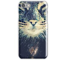 Cosmos cat iPhone Case/Skin