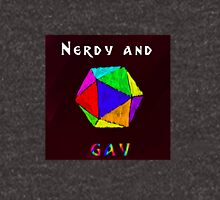 Nerdy and Gay Unisex T-Shirt