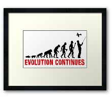 RC Radio Controlled Aircraft Evolution Continues Framed Print