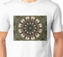 Rusty Alien Head Mandala Unisex T-Shirt