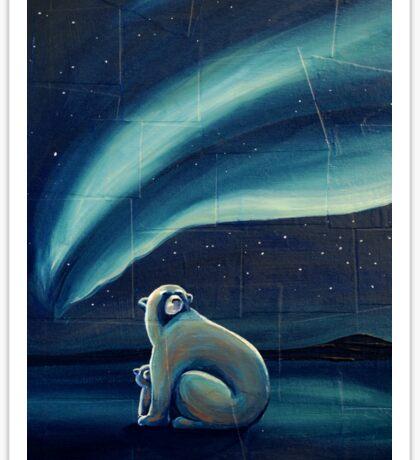 Polar Bears Sticker