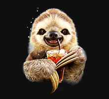Sloth And Soft Drink funny Unisex T-Shirt