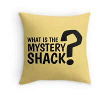 What is the Mystery Shack - Giftshop Souvenir Throw Pillow