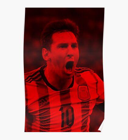 Leonel Messi - Celebrity Poster