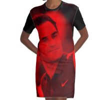 Rager Federer - Celebrity Graphic T-Shirt Dress