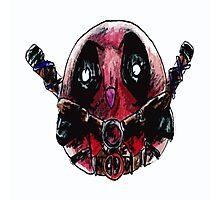 Deadpool owl Photographic Print