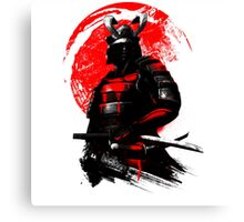Samurai - Special (Limited edition) Canvas Print
