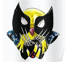 the wolverine owl Poster