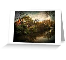 The Kennet and Avon Canal near Theale  Greeting Card