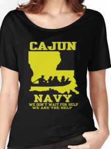 I support Louisiana Search and Rescue - CAJUN NAVY SHIRT Women's Relaxed Fit T-Shirt