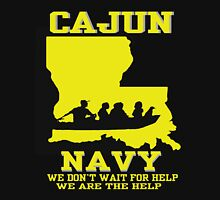 I support Louisiana Search and Rescue - CAJUN NAVY SHIRT Unisex T-Shirt