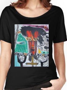 red shaman Women's Relaxed Fit T-Shirt