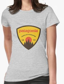 patagonia sticker Womens Fitted T-Shirt