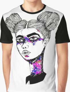 Galaxy in my eyes Graphic T-Shirt